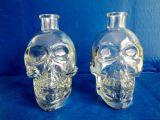 異型工藝玻璃瓶 骷髏頭酒瓶