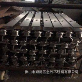 工装不锈钢立柱 316不锈钢工程异型大柱  304不锈钢栏杆钢板立柱