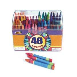 48色蜡笔