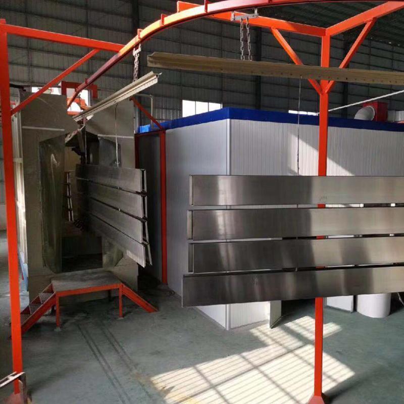 加油站包柱铝型材收边条 白色圆弧铝型材现货