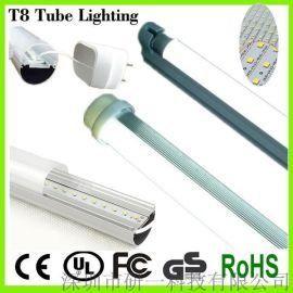 LED日光灯 T8 日光灯管 LED节能灯管 厂家直销 9W 0.6米灯管 分体灯管
