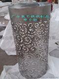 多邊形不鏽鋼花器 弧形不鏽鋼花盆 市政工程花盆最新製作