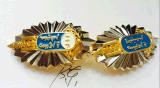 專業金屬徽章訂做四川攀枝花純銀胸針製作多少錢
