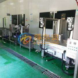 得尔润新款超声波清洗机 DR6大型龙虾清洗蒸煮线