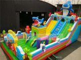 儿童充气城堡蹦蹦床 广场室外大型充气城堡公司