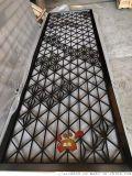 歐式黑鈦不鏽鋼屏風隔斷 花格酒店客廳玄關廠家定制