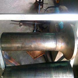 皮带机摩擦托辊组 133槽形托辊 上调心摩擦托辊