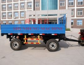 农用拖车定做厂家 哪里定做牵引平板拖车舜农机