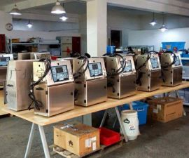 爱捷a400小字符喷码机, 厂家直销 二维码喷码机...化妆品生产日期喷码机