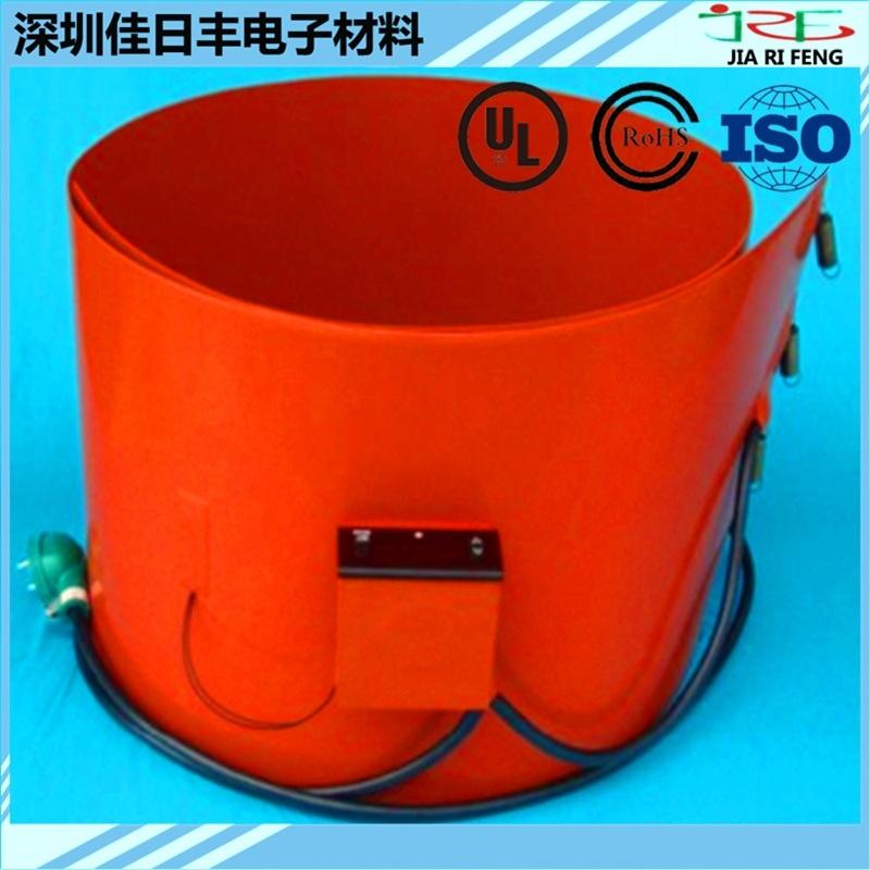 可调温硅胶电加热板 发热板 加热膜 硅橡胶加热带