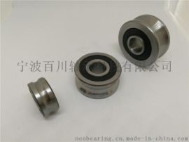 SLFR5201-12NPP全不锈钢圆弧槽导轨滚轮
