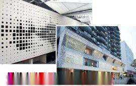 新型外墙墙面铝单板-外墙装饰冲孔铝单板金属装饰