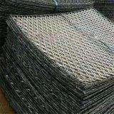 5毫米厚钢板网 菱型圈边毛竹笆网