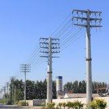 四回路10KV电力钢杆,耐张杆