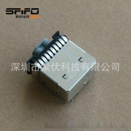 MOST汽车光纤1-1823724-1连接器
