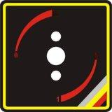 厂家批发可定制PC磨砂标贴 PVC不干胶标签logo标贴纸印刷