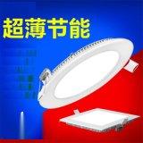 3W熱銷嵌入式吸頂燈led平板燈感應面板燈室內籃球場燈6w