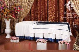 批发订做美容院养生馆会所床罩 美容床罩四件套