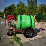 新型农药喷雾器移动式汽油打药机多功能四轮推车打药机