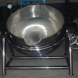 可倾式夹层锅 不锈钢夹层锅 煮肉锅