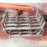 礦用皮帶機鉚焊結構件 供應皮帶機託輥支架