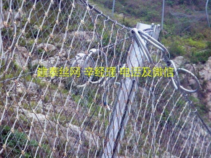 山坡防护被动防护网