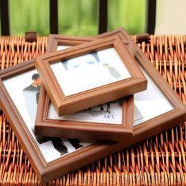欧式创意实木相框挂墙式桌面摆台海报证书框来样可定制