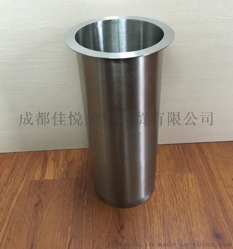 嵌入式 桌面圆形垃圾桶 不锈钢台面隐藏式垃圾桶