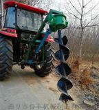 红河柴油挖坑机 大马力打孔挖坑机视频