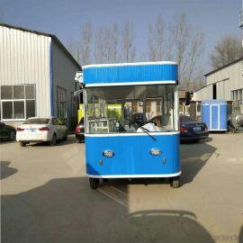 厂家直销电动四轮小吃车多功能快餐车卤菜熟食车早餐车