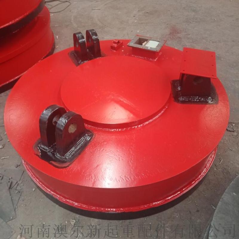 河南電磁吸盤廠家 廢鋼廢料用電磁吸盤