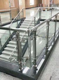 室内楼梯扶手栏杆 不锈钢安全栏杆异型立柱定做