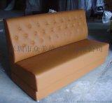 餐飲沙發定做中餐廳沙發甜品店卡座深圳沙發廠美式沙發