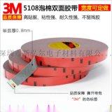3M5108雙面膠 超強力無痕超薄防水車用膠帶