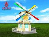 重庆荷兰风车厂,防腐木风车定制安装