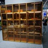 厂家供应高端金属酒柜不锈钢创意酒柜