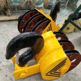 雙樑行車吊鉤組 10T半包式吊鉤組結實耐用滑輪吊鉤