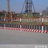 济南基坑泥浆池临边防护栏 网片临边安全围栏
