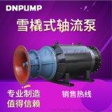 天津德能泵業大功率QZB潛水軸流泵之風摩損耗