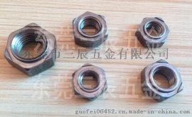 六角焊接螺母M3点焊螺母碰焊螺母凸焊螺母M3