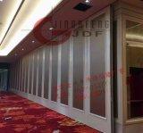 酒店实木铝合金移动屏风活动隔音墙高隔断包厢折叠门轨道厂家直销