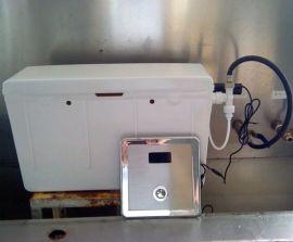 入墙隐蔽式手按感应两用感应水箱 暗装埋墙陶瓷阀芯蹲厕感应水箱