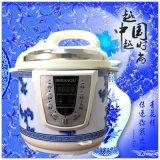廠家直銷 半球電壓力鍋5L6L 多功能智慧預約高壓鍋 無水燉雞批發