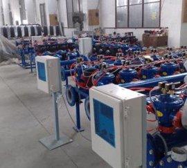 雄华DL-PL16叠片式过滤器控制箱 8站以上砂石过滤器控制箱