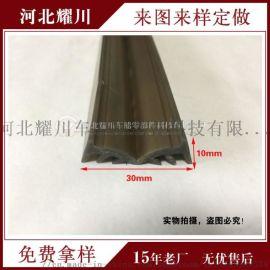 耐高温门窗密封胶条防风雨硅胶密封条方形氟胶密封条