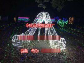 国庆梦幻求婚亲吻造型灯灯饰展览春节街道亮化灯