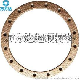 万方达 定制钎焊磨粒族排布金刚石砂轮