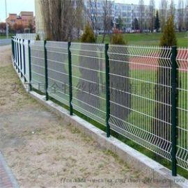 圈地种树防护网耐用美观护栏网 浸塑铁毕网围栏铁路封闭网