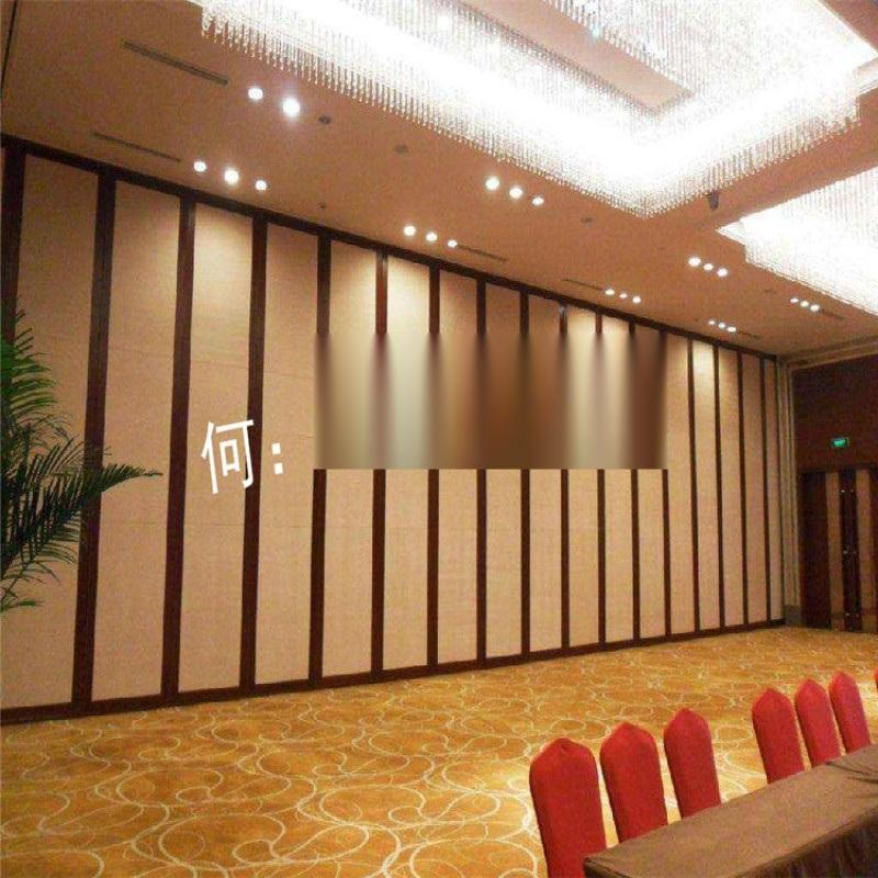 酒店活动隔断墙 会议室隔音移动推拉屏风 餐厅折叠门