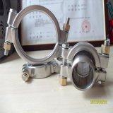 分割式双螺栓高压卡箍,304不锈钢卫生管道抱箍